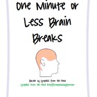 One Minute or Less Brain Breaks