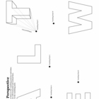 One-Point Perspective Letters