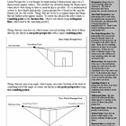 One-Point and Two-Point Perspective Worksheet Packet