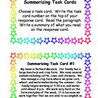 One-Sentence Summarizing Task Cards