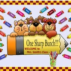 One Sharp Bunch Animated Smartboard Attendance K-5