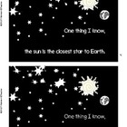 One Thing I Know... a mini book about the Sun, Earth, and Moon