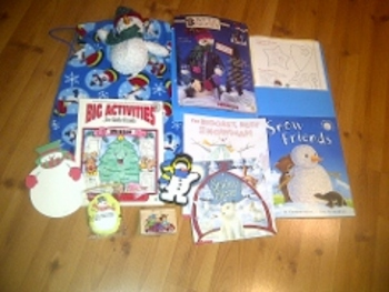One of a Kind Literacy Bag -- theme: WINTER