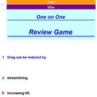 One on One Review Activity - School License  A Pinkley Product