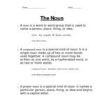 OneStop Grammar Shop: Nouns