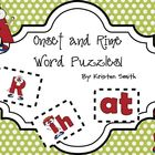 Onset and Rime word puzzles and games