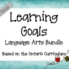 Ontario Curriculum Learning Goals Grade 5 Language Arts