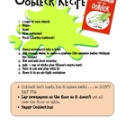 Oobleck Recipe (From Dr. Seuss' Barthomew and the Oobleck)