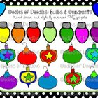 Oodles of Doodles: Christmas Ornaments and Lights Clip Art