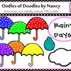 Oodles of Doodles: Rainy Days Polka Dots