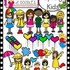 Oodles of Doodles: Spring Kids Clip Art