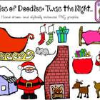 Oodles of Doodles: Twas the Night Christmas Clip Art COMBO