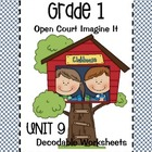 Open Court Imagine It: Decodable Worksheets for Unit 9