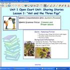 Open Court SMARTBoard Notebook Ant and Three Figs