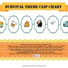 Open Court Survival Clip Up Behavior Chart
