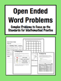Open Ended Word Problems: Complex, Multi-Step Challenges (