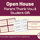 Open House Bonus Tickets