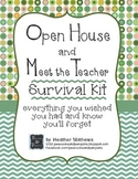 Open House and Meet the Teacher Event Survival Kit - Dots