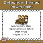 Open House or Back to School PowerPoint Presentation - Det