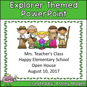 Open House or Back to School PowerPoint Presentation - Exp