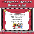 Open House or Back to School PowerPoint Presentation - Hol