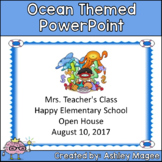 Open House or Back to School PowerPoint Presentation - Oce