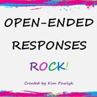 Open-ended Responses that ROCK