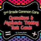 Operations & Algebraic Thinking Task Cards {2nd Grade CCSS}