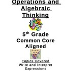Operations and Algebraic Thinking-Common Core
