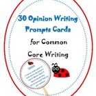 Opinion / Persuasive Writing Prompt Cards or sticks for co