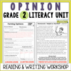 Opinion Reading and Writing Unit: Grade 2...40 Lessons wit