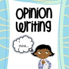 Opinion Writing - Mini-posters, Prompts, Graphic Organizer