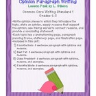 Opinion Writing Pack- Common Core Standard 1