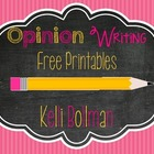 Opinion Writing Printables {FREE}