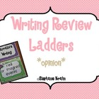 Opinion Writing Review Ladder - Monster Theme