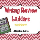 Opinion Writing Review Ladder - Owl Theme