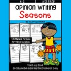 Opinion Writing: Seasons (Common Core)