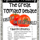 Opinion Writing: The Great Tomato Debate!