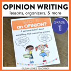 Opinion Writing Unit {Let&#039;s Write an Opinion!}