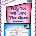 Opinion/Persuasive Writing MINI FREE Why You Will Love Thi