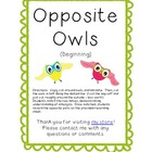 Opposite Owls (Beginners)