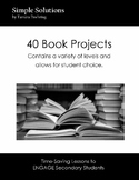 Optional Book Projects