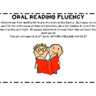 Oral Reading Fluency and Sight Word Practice