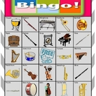Orchestra Bingo Extension Card 12