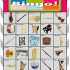 Orchestra Bingo Extension Card 13