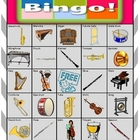 Orchestra Bingo Extension Card 14