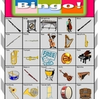Orchestra Bingo Extension Card 15