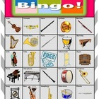 Orchestra Instruments Bingo