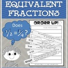 Order Up! Equivalent Fractions