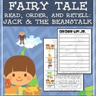 Order Up! Jr. Read, Order, and Retell- Jack and the Beanstalk